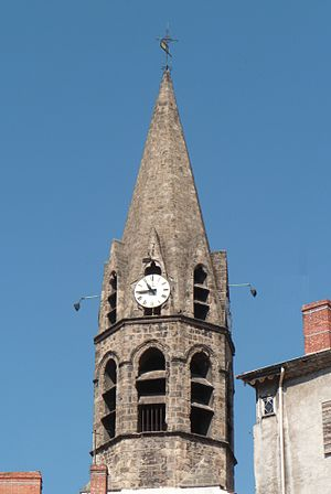 Annonay - Bell Tower of the Trachin Chapel