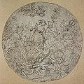 Anoniem, Medaillon met goden en godinnen in een landschap - Médaillon représentant des dieux et déesses dans un paysage, KBS-FRB.jpg