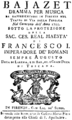 Anonymous - Bajazet - title page of the libretto - Florence 1755.png