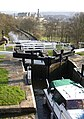 Another view down the five-rise locks, Bingley - geograph.org.uk - 389709.jpg