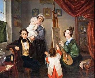 Anselm Salomon von Rothschild - Image: Anselm and Charlotte von Rothschild