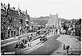 Ansichtskarte Blasewitz Dresden Blaues Wunder Schillerplatz Straßenbahn 1901.jpg