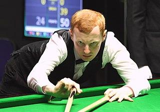 Anthony McGill Scottish snooker player