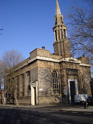 St George's Cathedral, London - Image: Antiochan Orthodox Cathedral London