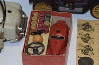 Antique mechanical car assembly kit (25580292031).jpg