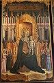Antonio vivarini e giovanni d'alemagna, madonna nel giardino del parad. coi dott. della chiesa, 1446, 03.JPG