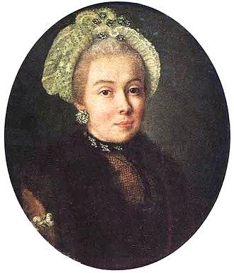 Aleksey Antropov - Unknown lady, 1760s
