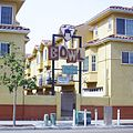 Apartment buildings brag replacement of Turquoise Room disco in North Park, San Diego, CA.JPG