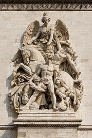 Arc de Triomphe, la Résistance de 1814, Antoine Etex