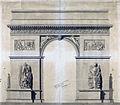 Arc de Triomphe de l'Etoile - Projet Chalgrin - 02.jpg