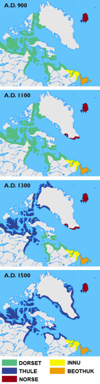 Arctic cultures from 900 CE to 1500 CE