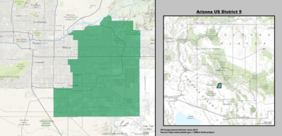 Arizona's 5th congressional district - since January 3, 2013.