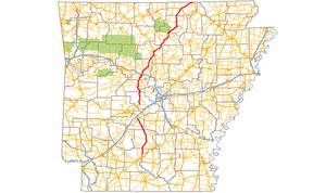 Arkansas Highway 9 - Image: Arkansas 9