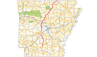 Arkansas Highway 9 highway in Arkansas