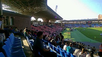 Vazgen Sargsyan Republican Stadium - Image: Armenia vs Portugal, 13 June 2015, V. Sargsyan Rep. Stad. Yerevan (3)