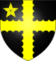 Arms of the Peyton family of Bury St Edmunds.png