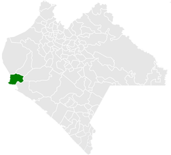 Municipality of Arriaga in Chiapas