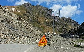 Col du Tourmalet - Summit of the Col du Tourmalet