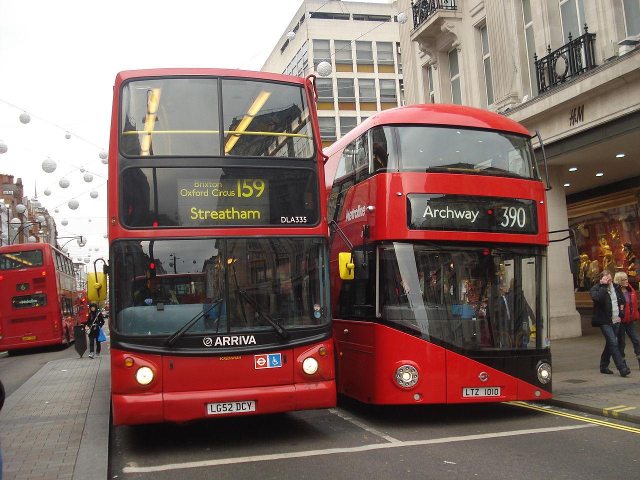 File Arriva London Bus Dla335 Lg52 Dcy Amp Metroline Bus