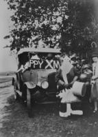 Arrival of Santa Claus at the Lady Musgrave Sanatorium Shorncliffe Queensland.tiff