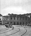 Arsenał 1945 widok z ulicy Bielańskiej lewa.jpg