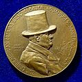 Art Nouveau Medal by Hans Schaefer of Edmund Guschelbauer, Vienna, Austria. Obverse.jpg
