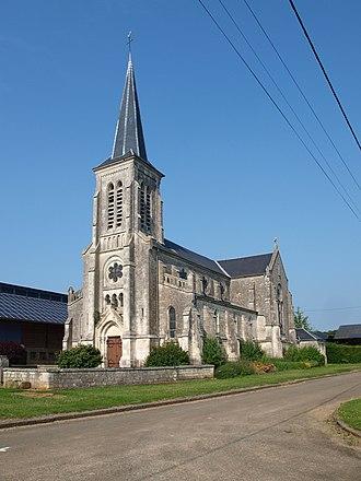 Artaise-le-Vivier - Image: Artaise le Vivier FR 08 Artaise église 12