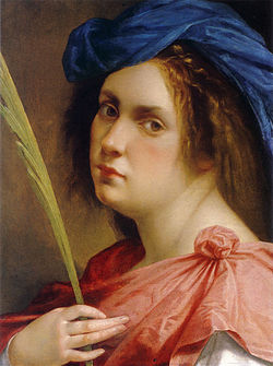 Artemisia Gentileschi Selfportrait Martyr.jpg