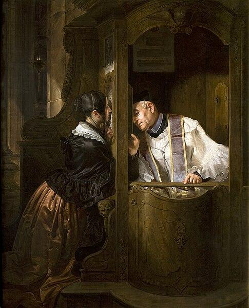 File:Artgate Fondazione Cariplo - Molteni Giuseppe, La confessione.jpg