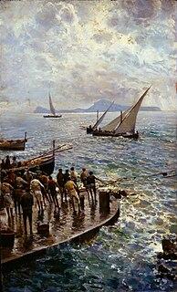 Attilio Pratella Italian painter (1856-1949)