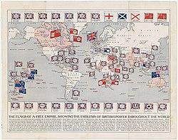 Map Of British Empire British Empire   Wikipedia