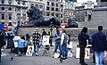 Artists Corner at Trafalgar Square - geograph.org.uk - 26222.jpg
