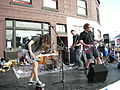 Artopia 2009 - music in front of Georgetown Records 03.jpg