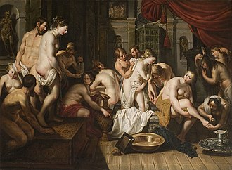 Artus Wolffort - Esther's Toilet in the Harem of Ahasuerus
