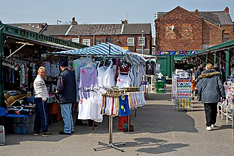 Ashton-in-Makerfield - Ashton Market, Ashton-in-Makerfield