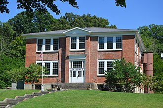 National Register of Historic Places listings in Bath County, Virginia - Image: Ashwood School front