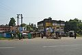 Asian Highway 45 and Railway Station Northward Road Junction - Deulti - Howrah 2014-10-19 0010.JPG