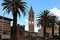 Asmara, cattedrale cattolica, campanile 02.JPG