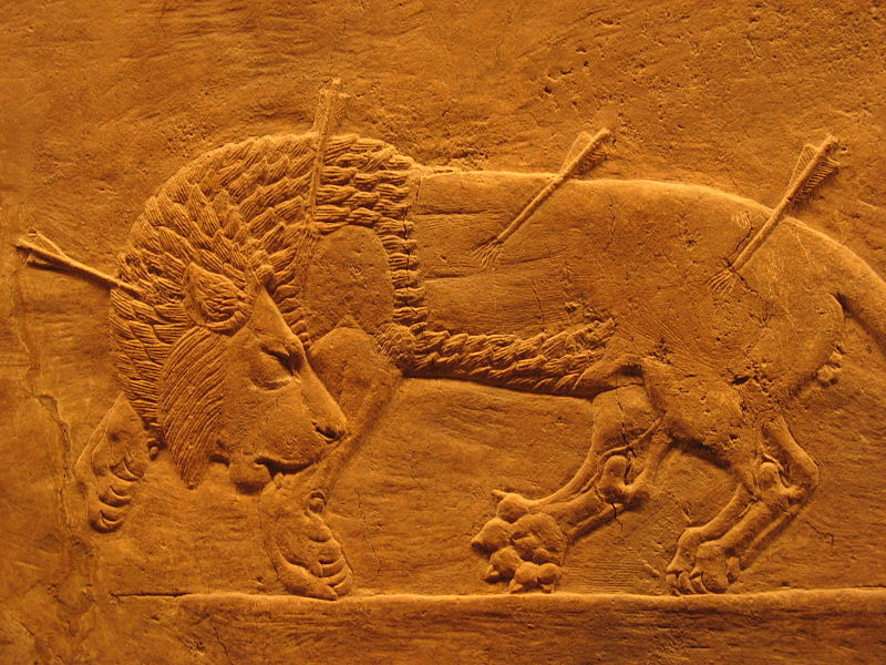 File:Assyrian royal lion hunt.jpg