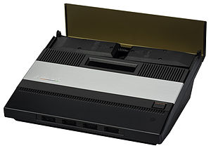 Atari 5200 - The 5200's large size is due in part to controller storage in the back of the unit.