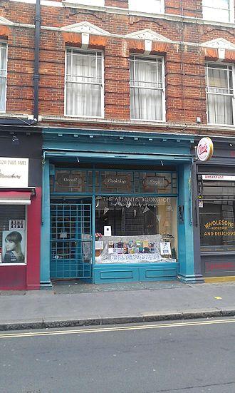 Atlantis Bookshop - Exterior of the shop