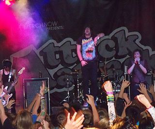 Attack Attack! (American band) American metalcore band