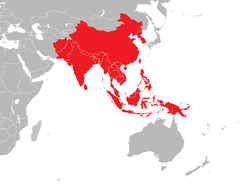 Attacus atlas distribution.png