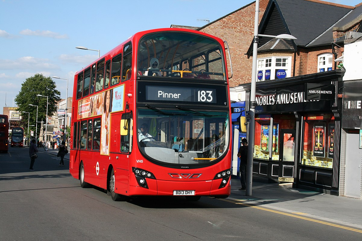 London Buses route 183 - Wikidata