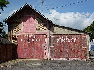 Aubenton - Image: Aubenton (Aisne) fire station