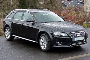 Audi allroad quattro - Image: Audi A4 allroad quattro Phantomschwarz