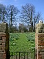 Aughton Church from the gateway into Aughton Hall - geograph.org.uk - 388486.jpg
