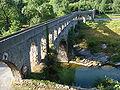 Auqaduct sur l'Arre en aval du Vigan.JPG