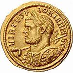 Aureus Florianus Ticinum (anverso) .jpg