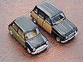Austin Mini Cooper S Radford & Renault R4 Parisienne (13887966910).jpg